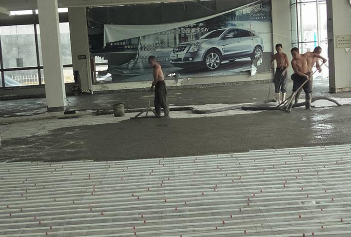 混凝土地面施工