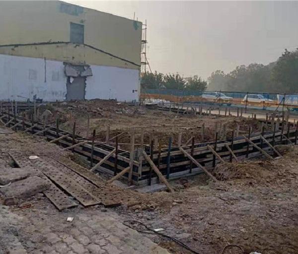 北方工业公司钢结构与旧楼改造施工