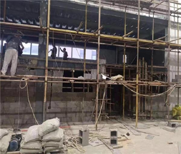 大连格恩自控设备公司厂房改造钢结构与主体工程